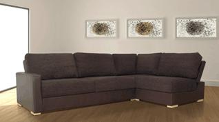A left hand corner sofa