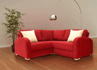 Symmetrical Corner Sofa