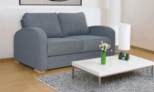 Modular two seat sofa