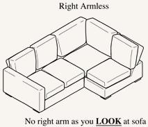 Armless options