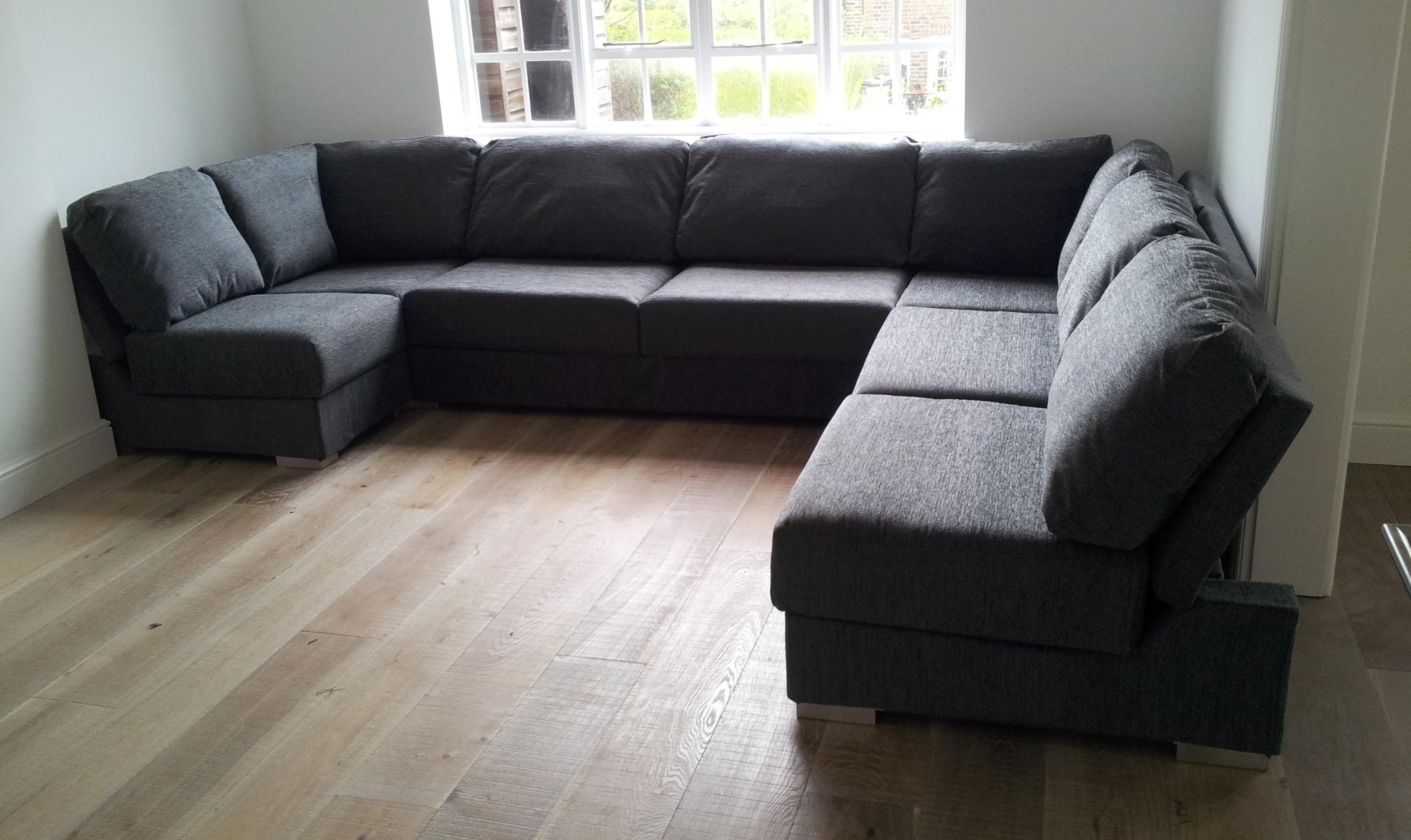 Bespoke U Shaped Sofas