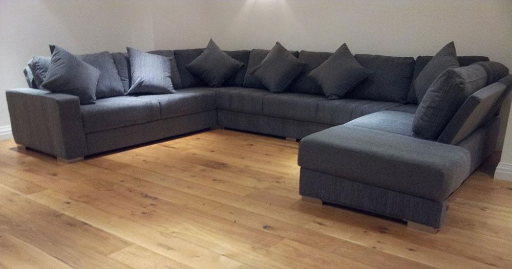 Design your own u-shape sofa