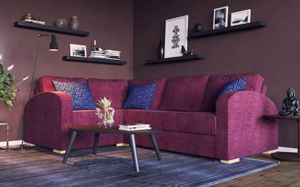 Nabru corner sofas