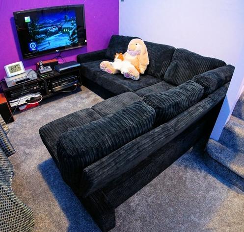 Lear 3x3 Armless Corner Sofa