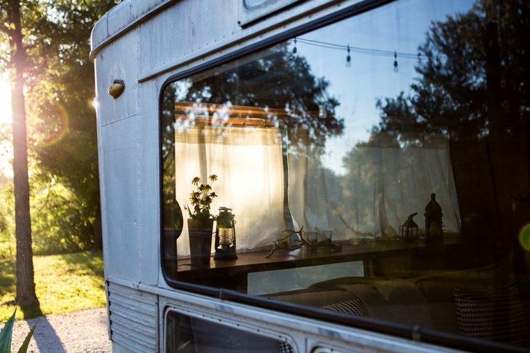 How to decorate your caravan