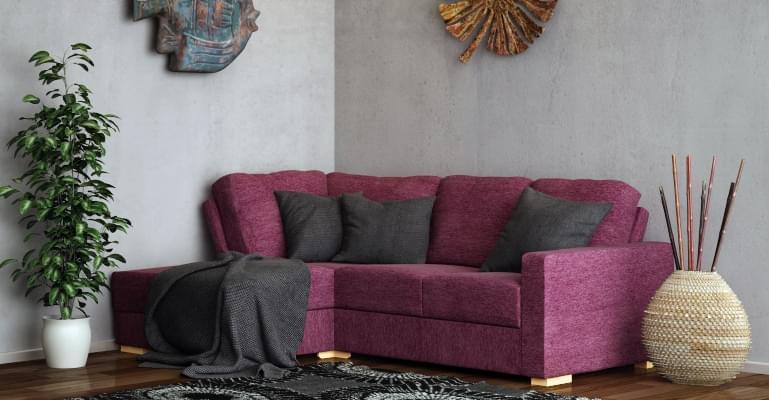 comfy lear sofa