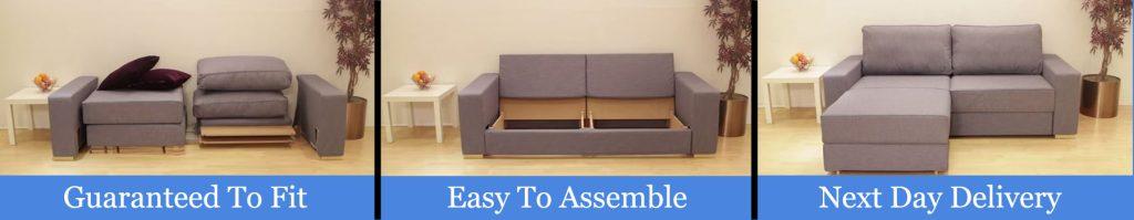 self assembly sofa flatpack
