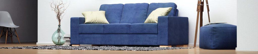 nabru blue sofa