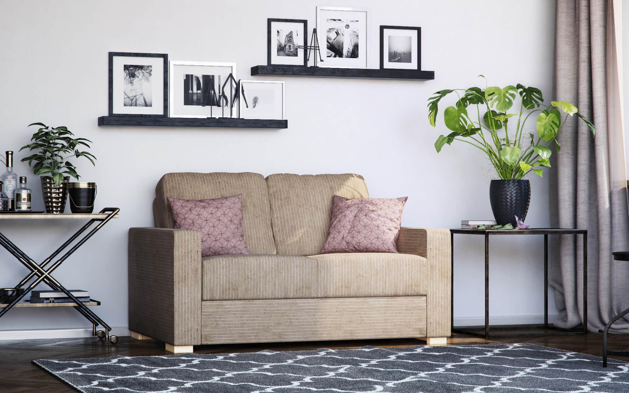 lear 2 seat sofa - budget friendly