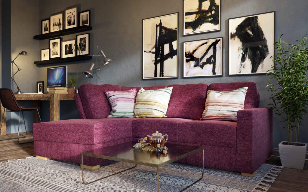 lear corner sofa