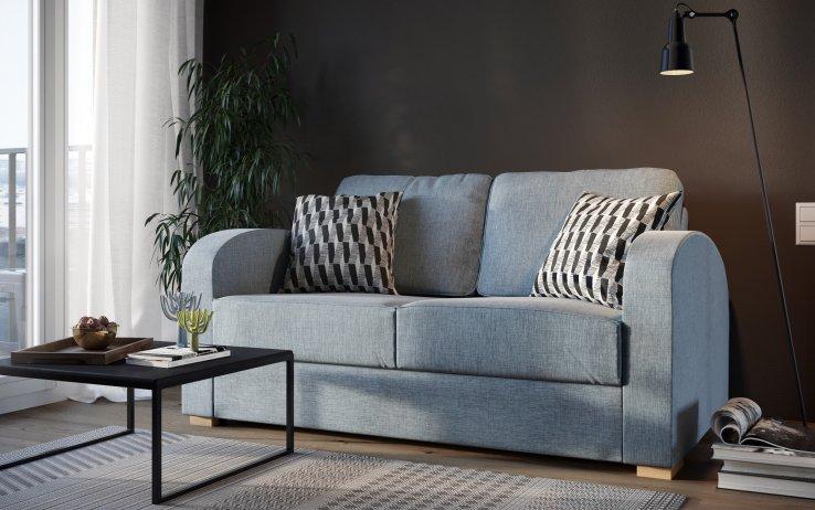 Holl2 seat storage sofa