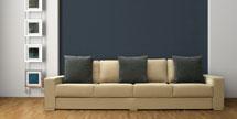 4 Medium Seat Sofa in Hudson Taupe