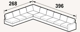 More about Nabru Large Corner Sofas