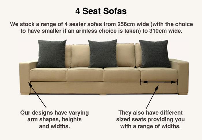 More about Nabru 4 Seat Sofas'