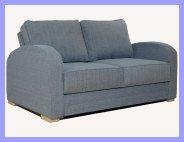 2 Seat Blue Sofa