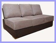 Armless Boat Sofa
