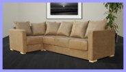 Corner Sofa Suede
