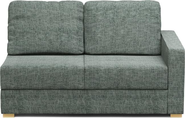 Alda One Armless 2 Seat Sofa