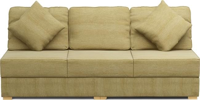 Alda Two Armless 3 Seat Sofa