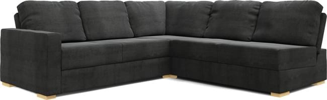 Alda Armless 3X3 Corner Sofa