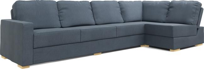 Alda Armless 4X2 Corner Sofa