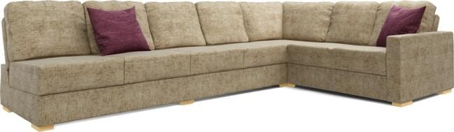 Lear Armless 5X3 Single Sofa Bed