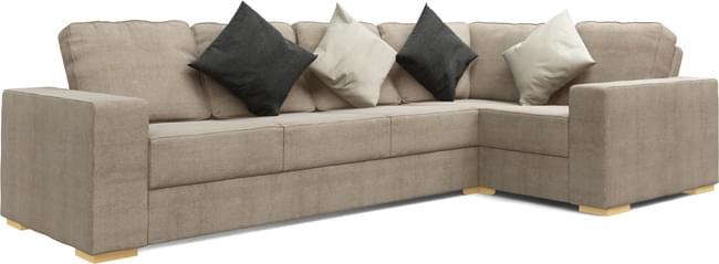 Ato 4X2 Corner Double Sofa Bed