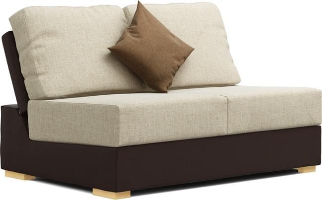 Alda Two Armless 2 Seat Sofa