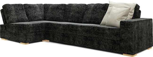 Lear Armless 4X2 Double Sofa Bed