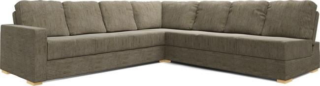 Lear Armless 4X4 Double Sofa Bed