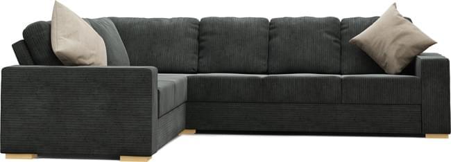 Ato 4X3 Corner Double Sofa Bed