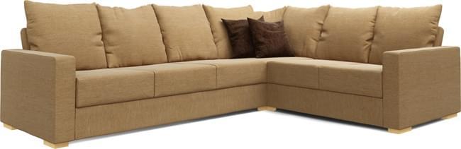 Tor 4X3 Corner Double Sofa Bed