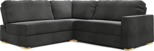 Xan 2X2 Armless Single Sofa Bed