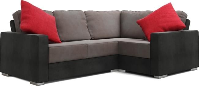 Lear 3X2 Corner Single Sofa Bed