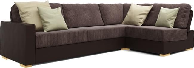 Ula Armless 3X2 Double Sofa Bed