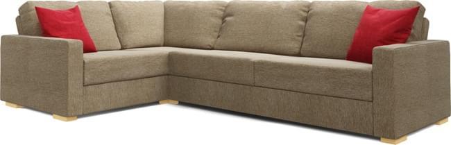 Koi 3X2 Corner Double Sofa Bed
