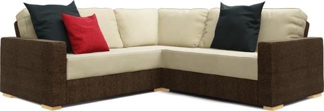 Xan 2X2 Corner Sofa - Extra Large Seat Corner   Nabru