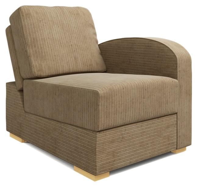 Lear Armless Armchair