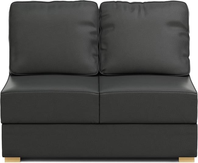 Lear Two Armless 2 Seat Sofa