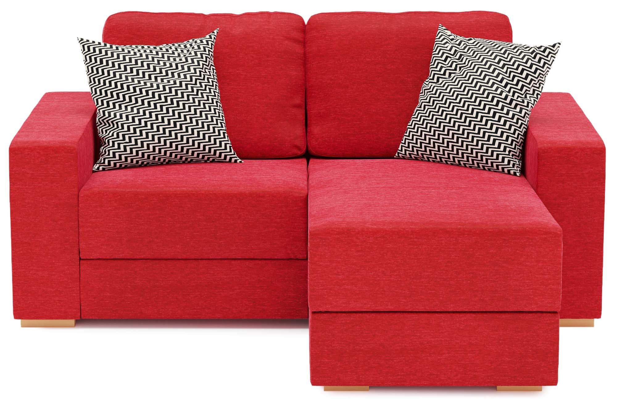 Holl 2 Seat Compact Chaise Corner Sofa Nabru