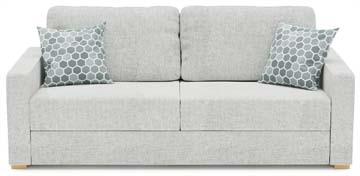 Beau Ula 2 Seat Double Sofa Bed