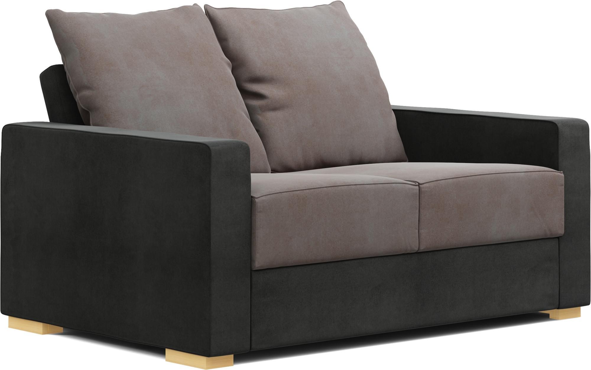 Tor 2 Seat Sofa Bed   Narrow Sofa Bed   Nabru