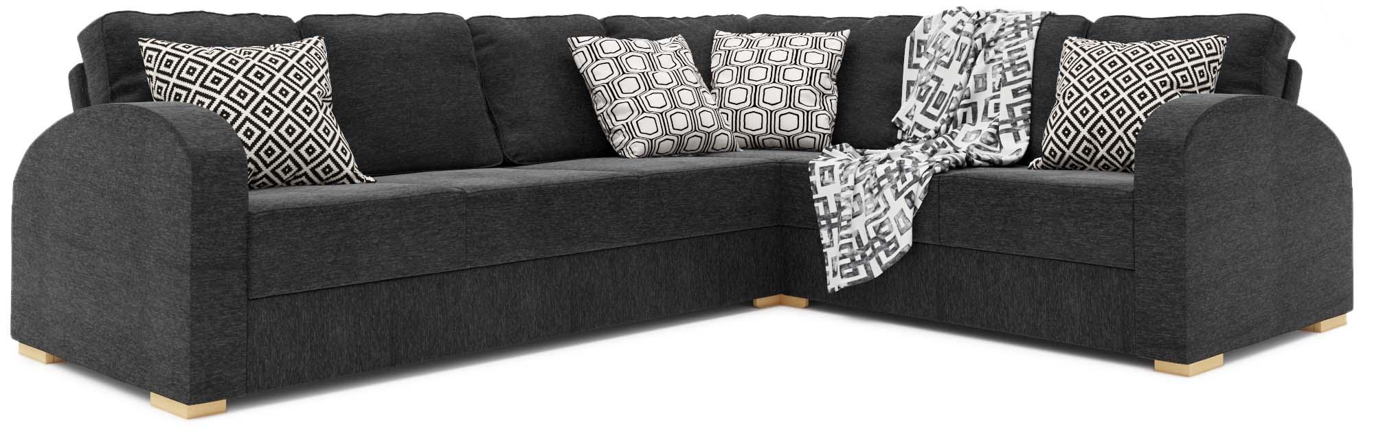 Orb 4x3 Corner Double Sofa Bed