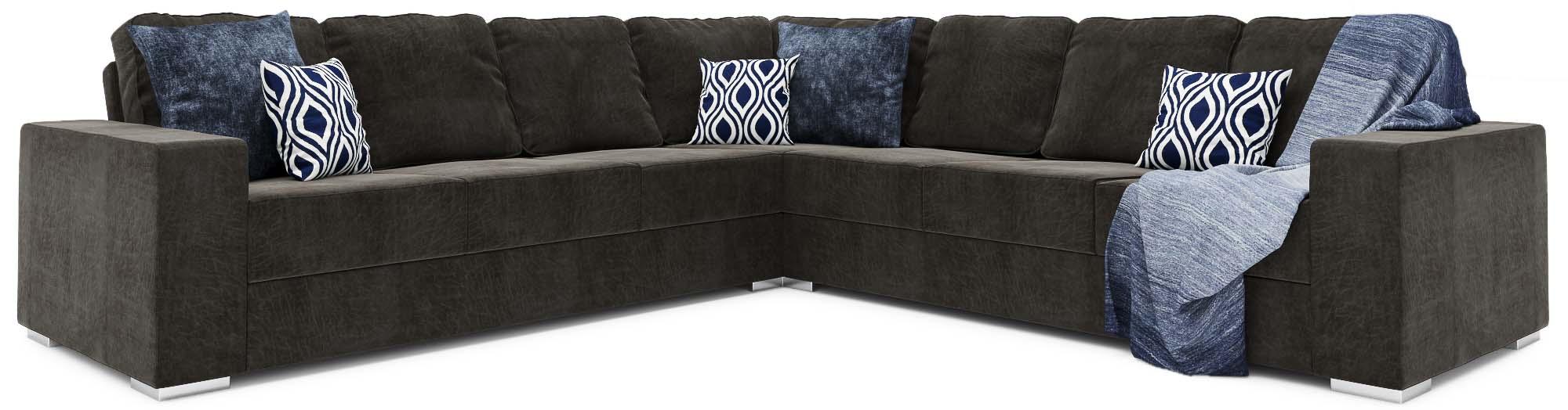 Ato 4X4 Corner Double Sofa Bed
