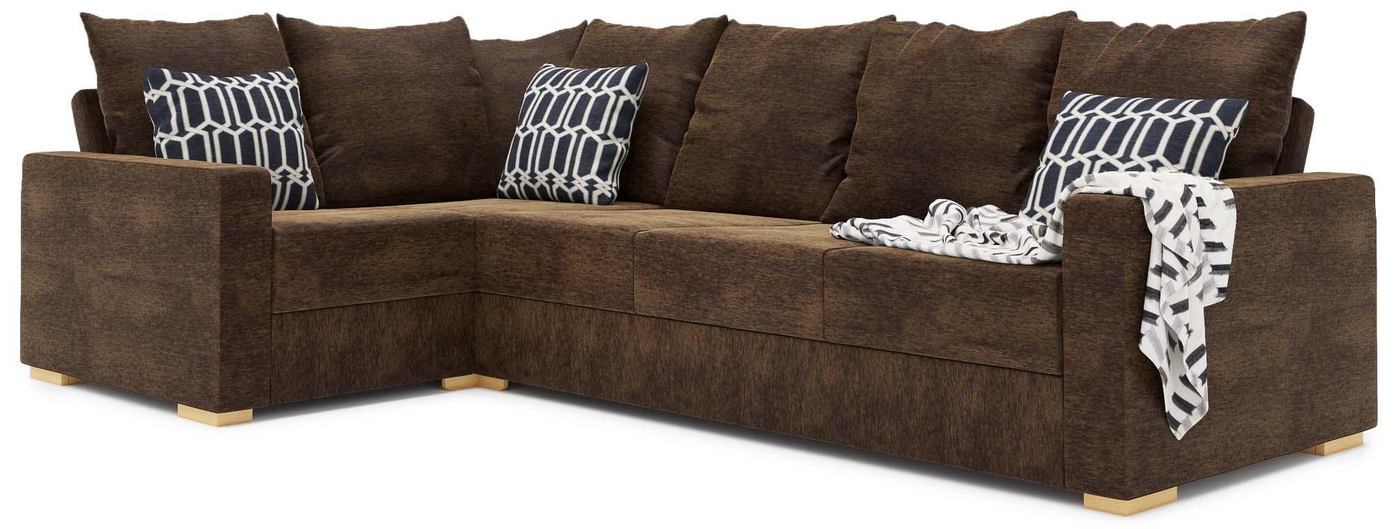 Tor 4X2 Corner Double Sofa Bed