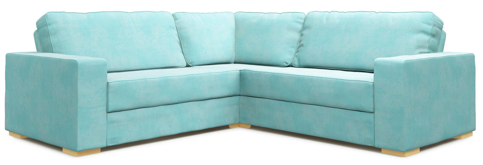 Xia 2x2 Armless Single Modular Sofa Bed Nabru