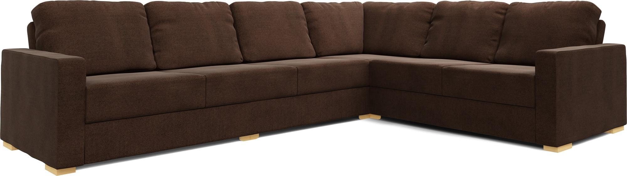 Alda 4X3 Corner Double Sofa Bed