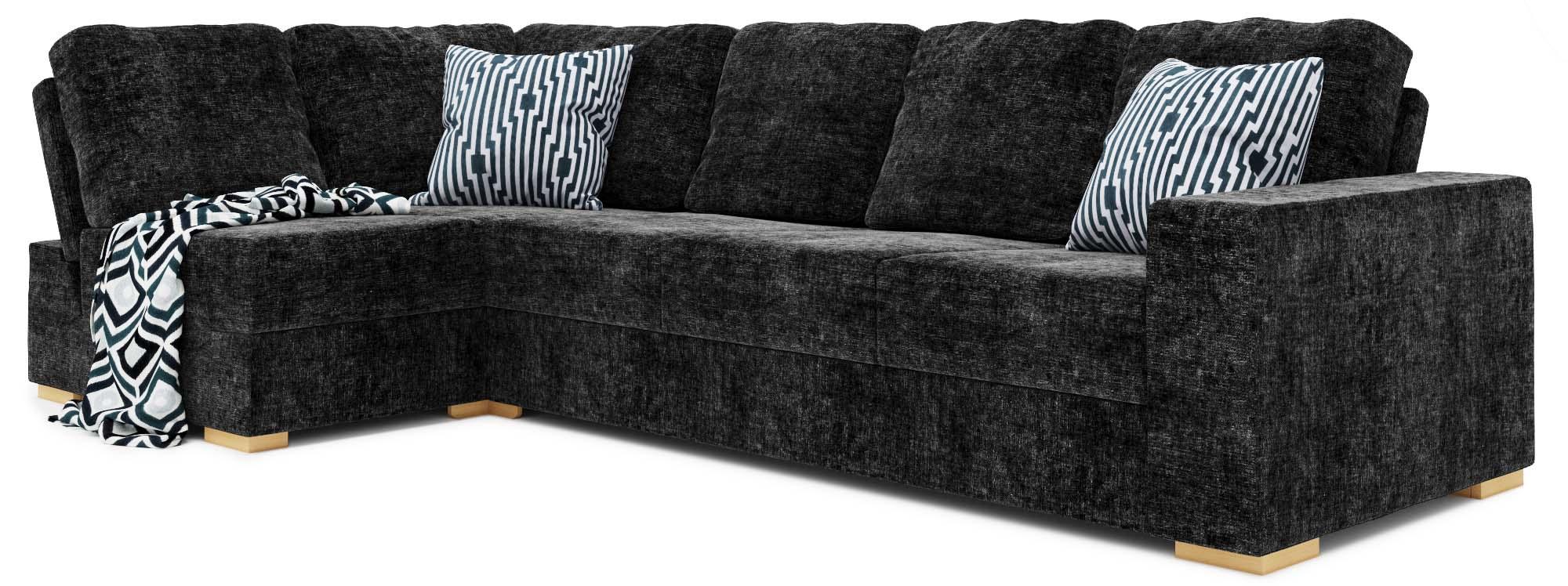 Lear 4X2 Corner Double Sofa Bed