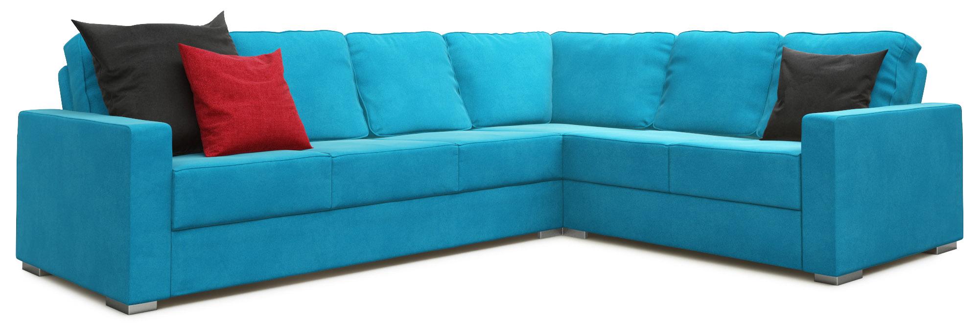 Lear 4X3 Corner Double Sofa Bed