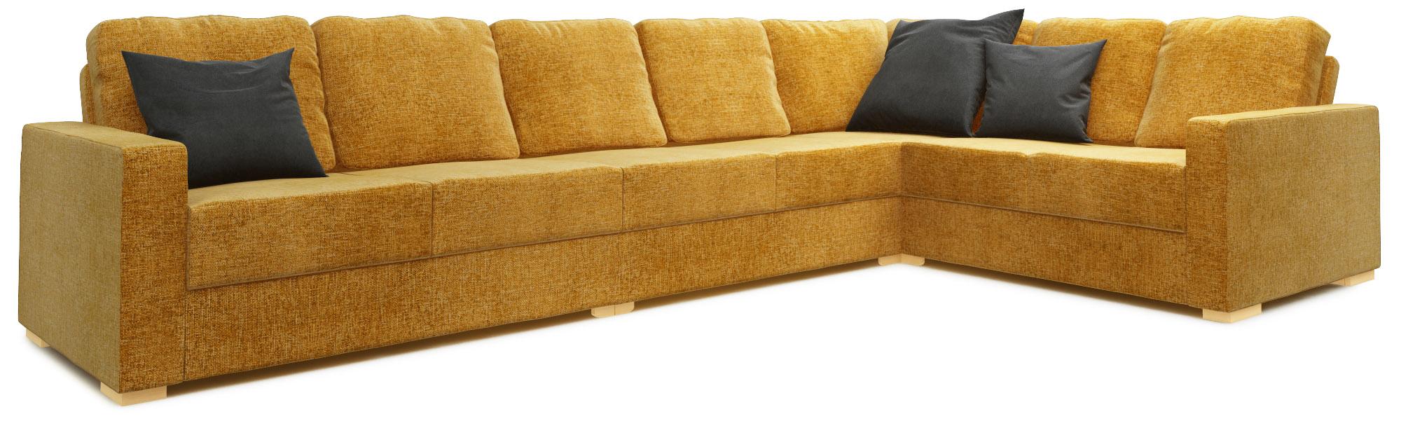 Lear 5X3 Corner Single Sofa Bed